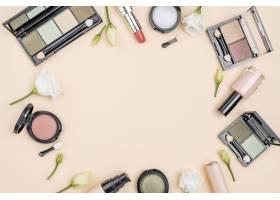 具有复制空间的化妆品的平铺组合物_8667161