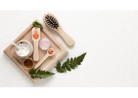 具有复制空间的天然化妆品概念_8515254