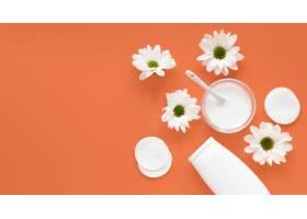 具有复制空间的天然化妆品概念_8515256