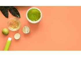 具有复制空间的天然化妆品概念_8515257