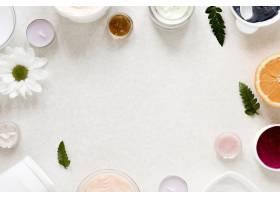 具有复制空间的天然化妆品概念_8515302