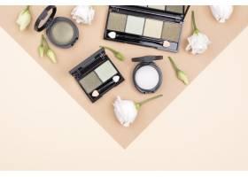 具有复印空间的化妆品布置_8667164