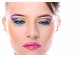 化妆漂亮的年轻女子_8536712