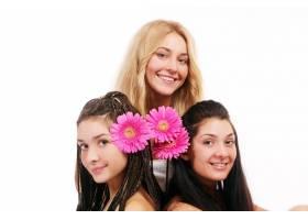 一群漂亮的年轻女子_6284613