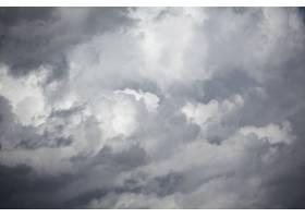 蓝天与云的特写_613306001