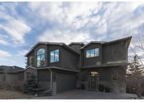 现代住宅美丽建筑的宽阔镜头_792626601