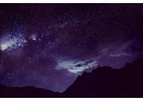 星星暗淡的天空美丽的令人惊叹的_276104001