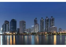 曼谷城市景观夜景_118556001