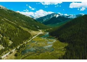 科罗拉多州独立山口的美景_1215288201