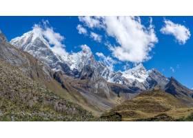 秘鲁科迪莱拉华亚什令人叹为观止的山脉的美_828184301
