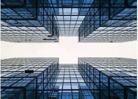 建筑商务城市建筑几何_279196001