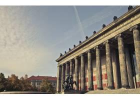 德国柏林阿尔特斯博物馆的美丽镜头_805470101