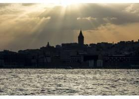 土耳其伊斯坦布尔多云的天空_301201701