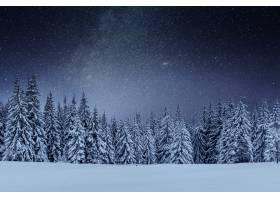 在冬天的树林里进行乳制品星际旅行戏剧性_927673401