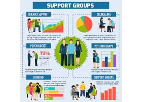 心理咨询和支持信息图表演示_2869495
