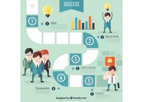 成功的商业信息图表_777556