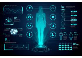 医学信息图女性和图表_7715066