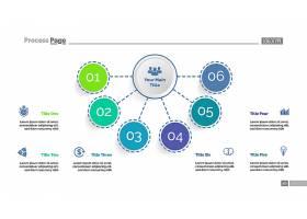 六要素流程图模板业务数据图表元素图_2438856