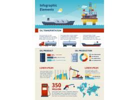 石油生产和运输信息图_9463246