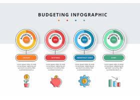 预算信息图模板_8935743