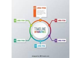 时间线信息图表模板_796484