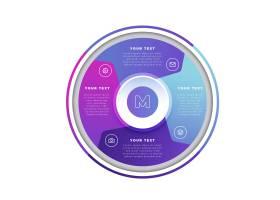 圆形现代信息图形模板_6986230