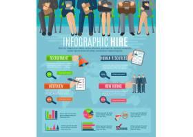 人力资源人员招聘和招聘策略信息图表报告_2868818