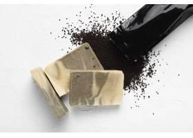 水疗中心用咖啡豆制成的肥皂_5502805