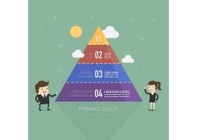 金字塔信息图模板_987193