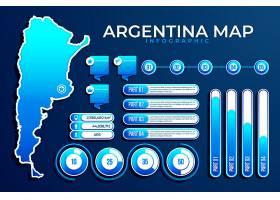 阿根廷梯度地图信息图_10840013