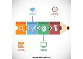 教育信息图模板_759828