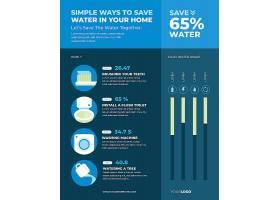平面设计世界水日信息图表_12278674