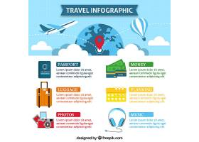 平面设计中带有旅行元素的信息摄影_1199914