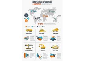 建筑信息图建筑元素演示图形和图表全_10700775