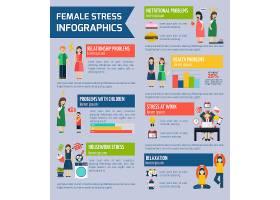女性压力与抑郁信息图报告_2869323
