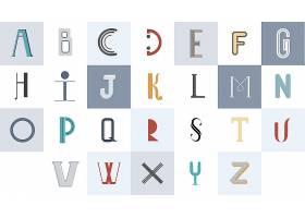 英文字母排版插图_3415752