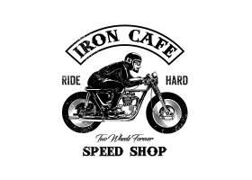 店铺标识摩托车设计_1171235