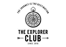 探险家俱乐部标志设计矢量_3093602