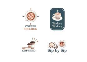 带有国际咖啡日概念设计的LOGO用于品牌推_10119744