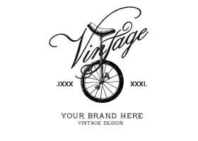 复古品牌标志设计矢量_3386381