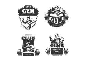 健身房和健身标识运动健身房健身房标_13047175