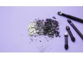 化妆工具和眼影_4166697