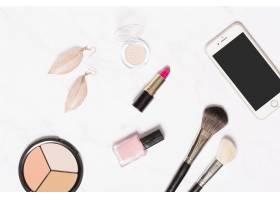智能手机和化妆用品_1587577