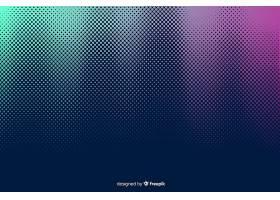具有渐变半色调效果的抽象背景_5136797
