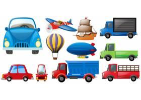 不同种类的交通工具_1175922