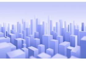 3D现代城市背景_6209953