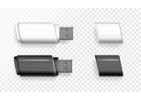 3D逼真记忆棒的USB闪存驱动器插图_3090678