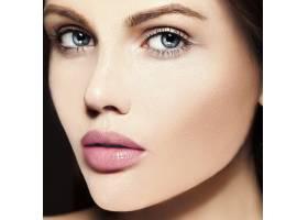 高级时尚造型迷人的特写美人肖像美丽的高_7200983