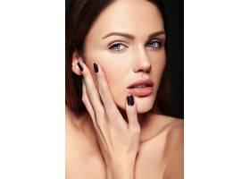 魅力特写美丽性感的高加索年轻女子模特裸妆_7201023