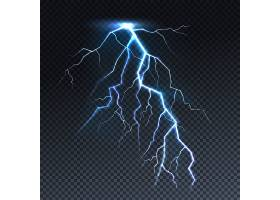 闪电或十万伏特灯光插图_3519464